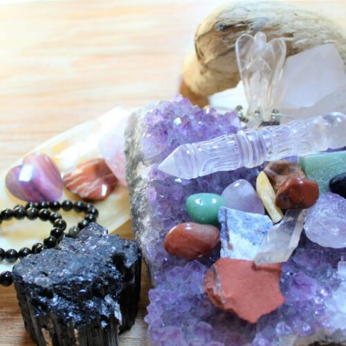 Crystal Soul, Cristalli e Angeli